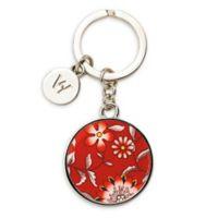 Wedgwood® Wonderlust Crimson Key Ring in Red
