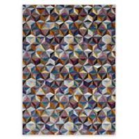 Modway Arisa Geometric Hexagon Mosaic Multicolor Rug