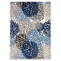 Modway Vintage Abstract Floral 5' x 8' Area Rug