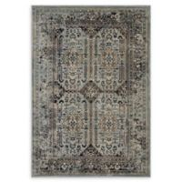 Modway Enye Vintage 5' x 8' Flat-Weave Area Rug in Brown/Silver