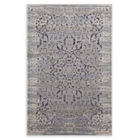 Modway Margarida Distressed Turkish 8' x 10' Area Rug in Blue/Cream