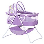 Dream on Me Karly Bassinet in Periwinkle