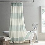 UGG® Napa 84-Inch x 72-Inch Yarn-Dyed Stripe Shower Curtain in Agave