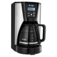 Mr. Coffee® 12-Cup Programmable Coffee Maker in Chrome/Black
