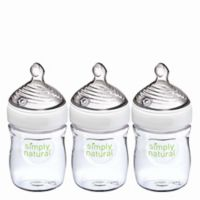 NUK® Simply Natural 3-Pack 5 fl. oz. Bottle