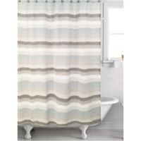 Famous Home® Horizon Shower Curtain in Blue