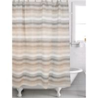 Famous Home® Horizon Shower Curtain in Beige