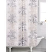Famous Home® Enchanted Shower Curtain in Beige/Taupe