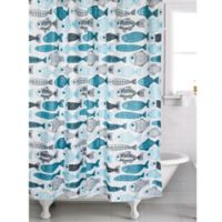 Famous Home® Flow Shower Curtain in Blue