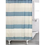 Evan Shower Curtain in Blue