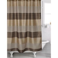 Alys Shower Curtain in Bronze