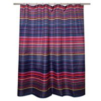 Eye Candy Striped Shower Curtain