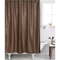 Famous HomeR 2 Piece Modena Shower Curtain And Liner Set In Bronze