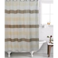 Famous Home® 2-Piece Neo Shower Curtain and Liner Set in Cream