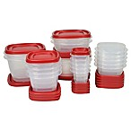 Rubbermaid® Easy Find Lid&trade 40-Piece Food Storage Set in Red