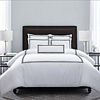 Wamsutta® Hotel Triple Baratta Stitch Full/Queen Comforter Set in Navy