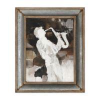Uttermost Jazz Sax 41.8-Inch x 34-Inch Framed Wall Art