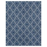 Erin Gates Easton Geometric 2' x 3' Handcrafted Accent Rug in Navy