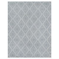 Erin Gates Easton Geometric 2' x 3' Handcrafted Accent Rug in Grey