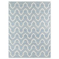Erin Gates Langdon Hand Woven 7-Foot 6-Inch x 9-Foot 6-Inch Area Rug in Blue