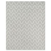 Erin Gates Langdon Hand Woven 7-Foot 6-Inch x 9-Foot 6-Inch Area Rug in Grey