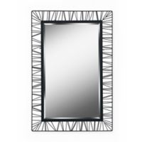 Kenroy Home Wireframe 10-Inch x 14-Inch Rectangle Wall Mirror