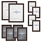 Core Gallery Wood Photo Frame Set in Espresso (10-Piece Set)