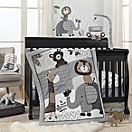 Lambs & Ivy® Urban Jungle 4-Piece Crib Bedding Set