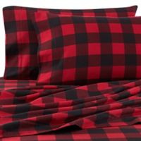 The Seasons Collection® HomeGrown™ Buffalo Plaid California King Flannel Sheet Set