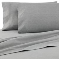 The Seasons Collection® HomeGrown™ Queen Flannel Sheet Set in Grey