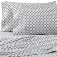 The Seasons Collection® HomeGrown™ King Pillowcases in Charcoal/White (Set of 2)