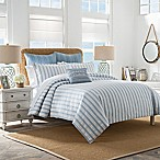 Coastal Life® South Port Stripe Full/Queen Duvet Cover in Blue