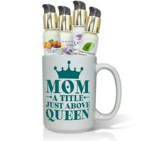 "Pure Energy Apothecary ""Mom Queen"" Lotions & Gift Mug Set"