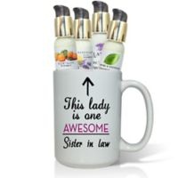 "Pure Energy Apothecary ""Awesome Sister in Law"" Lotions & Gift Mug Set"