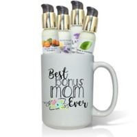 "Pure Energy Apothecary ""Best Bonus Mom Ever"" Lotions & Gift Mug Set"