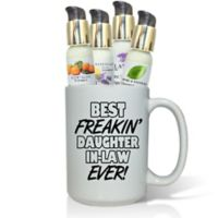 Pure Energy Apothecary Best Freakin' Daughter-in-Law Lotions & Gift Mug Set