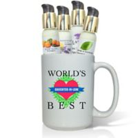 Pure Energy Apothecary World's Best Daughter-in-Law Lotions & Gift Mug Set