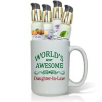 Pure Energy Apothecary World's Most Awesome Daughter-in-Law Lotions & Gift Mug Set