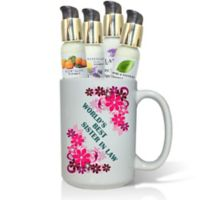 "Pure Energy Apothecary ""World's Best Sister-in-Law"" Lotions & Gift Mug Set"