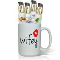"Pure Energy Apothecary ""Wifey"" Lotions & Gift Mug Set"