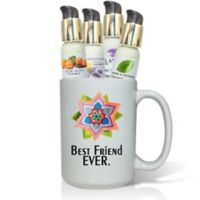 "Pure Energy Apothecary ""Best Friend"" Flower Lotions & Gift Mug Set"
