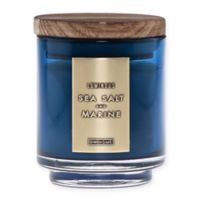 DW Home Sea Salt and Marine Wood-Accent 4 oz. Jar Candle in Blue
