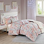 Intelligent Design Charlotte 5-Piece Full/Queen Comforter Set in Blush