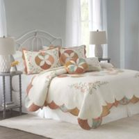 Nostalgia Home™ Medford Reversible Full/Queen Quilt in Ivory/Tan