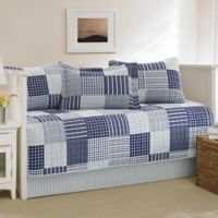 Nautica® Key Haven Daybed Quilt Set in Navy