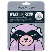 The Crème Shop® Wake Up, Skin! Animated Racoon Face Mask