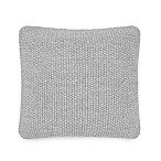 UGG® Summer Knit Square Throw Pillow in Grey