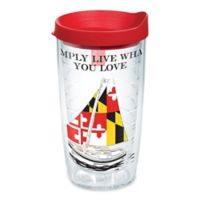 Tervis® Simply Southern MD Flag Sailboats 16 oz. Wrap Tumbler with Lid