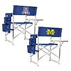 Picnic Time® Navy Blue Collegiate Folding Sports Chair