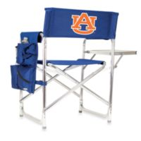 Picnic Time® Auburn University Collegiate Folding Sports Chair in Navy Blue